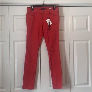 NWT Level 99 Liza red skinny jeans, size 29